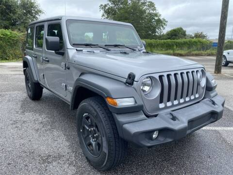 2018 Jeep Wrangler Unlimited for sale at JOE BULLARD USED CARS in Mobile AL
