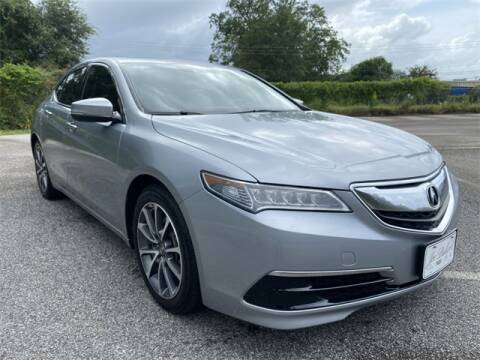 2017 Acura TLX for sale at JOE BULLARD USED CARS in Mobile AL