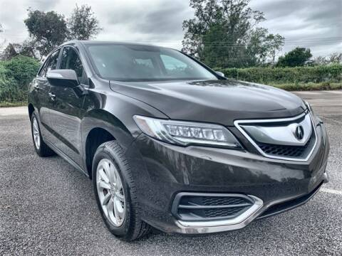2017 Acura RDX for sale at JOE BULLARD USED CARS in Mobile AL