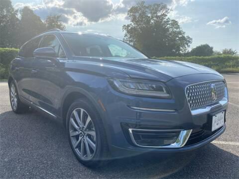 2019 Lincoln Nautilus for sale at JOE BULLARD USED CARS in Mobile AL