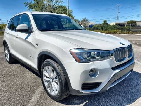 2017 BMW X3 for sale at JOE BULLARD USED CARS in Mobile AL