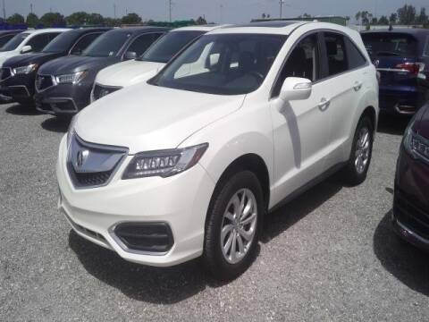 2018 Acura RDX for sale at JOE BULLARD USED CARS in Mobile AL
