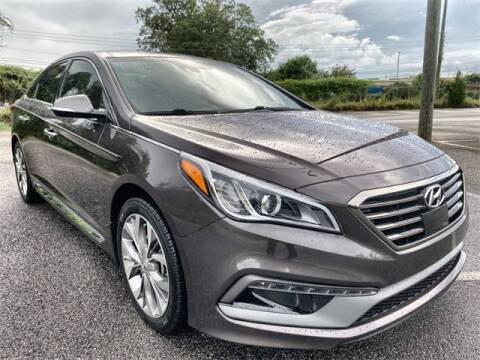 2015 Hyundai Sonata for sale at JOE BULLARD USED CARS in Mobile AL