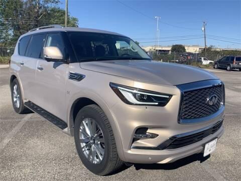 2019 Infiniti QX80 for sale at JOE BULLARD USED CARS in Mobile AL