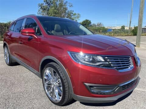 2016 Lincoln MKX for sale at JOE BULLARD USED CARS in Mobile AL