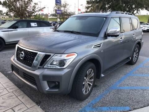 2019 Nissan Armada for sale at JOE BULLARD USED CARS in Mobile AL