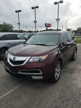 2013 Acura MDX for sale at JOE BULLARD USED CARS in Mobile AL