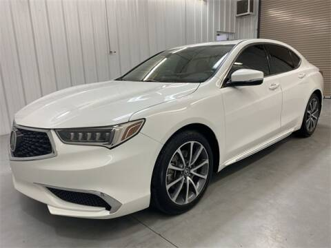 2018 Acura TLX for sale at JOE BULLARD USED CARS in Mobile AL