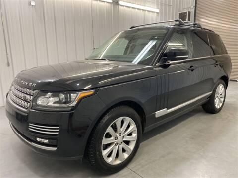 2014 Land Rover Range Rover for sale at JOE BULLARD USED CARS in Mobile AL