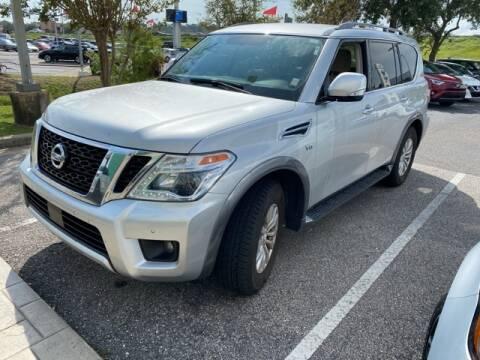 2018 Nissan Armada for sale at JOE BULLARD USED CARS in Mobile AL