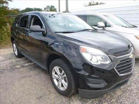 2017 Chevrolet Equinox for sale at JOE BULLARD USED CARS in Mobile AL