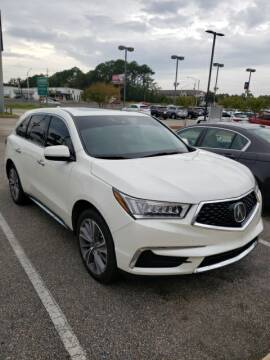 2017 Acura MDX for sale at JOE BULLARD USED CARS in Mobile AL