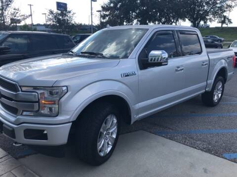 2018 Ford F-150 for sale at JOE BULLARD USED CARS in Mobile AL