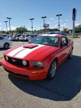 2007 Ford Mustang for sale at JOE BULLARD USED CARS in Mobile AL
