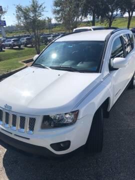 2014 Jeep Compass for sale at JOE BULLARD USED CARS in Mobile AL