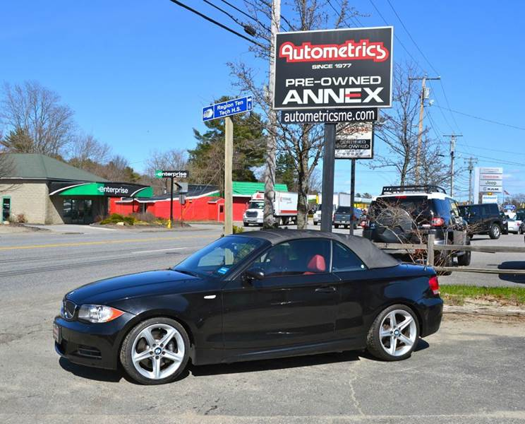 2009 BMW 1 Series for sale at AUTOMETRICS in Brunswick ME