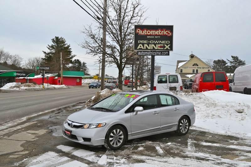2011 Honda Civic for sale at AUTOMETRICS in Brunswick ME