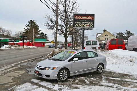 2011 Honda Civic for sale at AUTOMETRICS in Brunswick ME