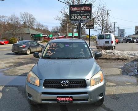 2008 Toyota RAV4 for sale at AUTOMETRICS in Brunswick ME