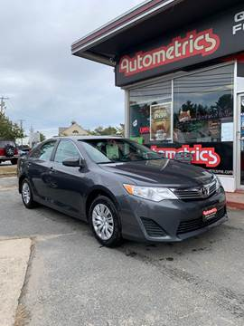 2013 Toyota Camry for sale in Brunswick, ME