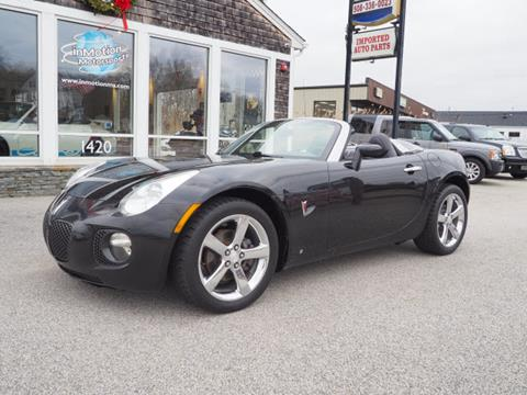 2007 Pontiac Solstice for sale in Seekonk, MA