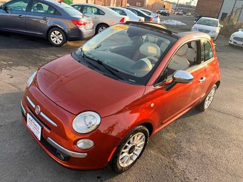 2012 FIAT 500c for sale in Troy, NY