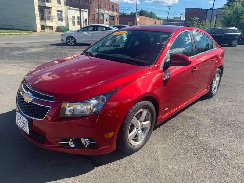 2014 Chevrolet Cruze for sale at Bob Karl's Sales & Service in Troy NY