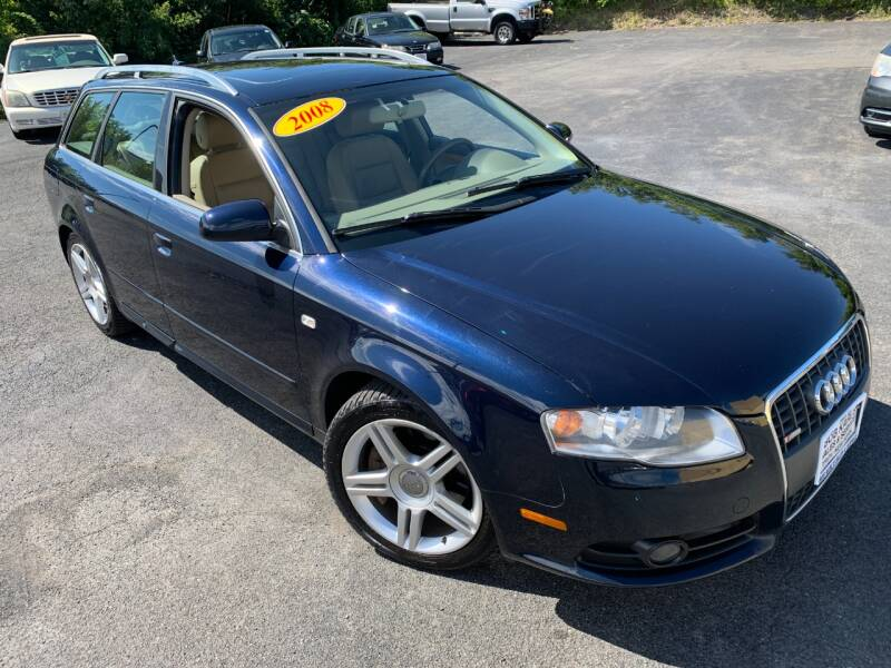 2008 Audi A4 for sale at Bob Karl's Sales & Service in Troy NY