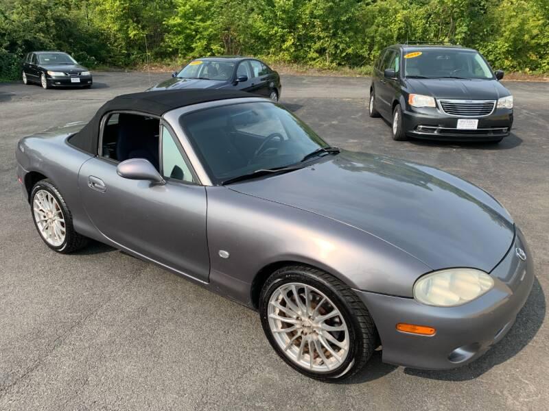 2003 Mazda MX-5 Miata for sale at Bob Karl's Sales & Service in Troy NY