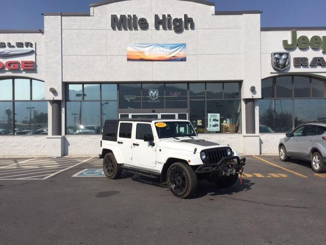 2014 Jeep Wrangler Unlimited 4x4 Sahara 4dr SUV - Butte MT