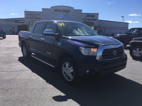 2007 Toyota Tundra for sale in Butte, MT