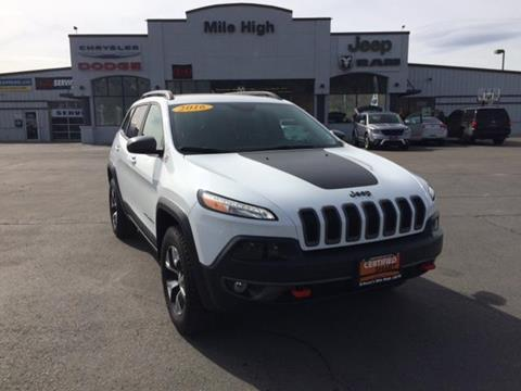 2016 Jeep Cherokee for sale in Butte MT