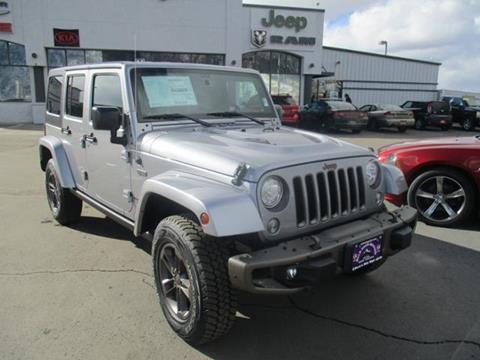 2017 Jeep Wrangler Unlimited for sale in Butte MT