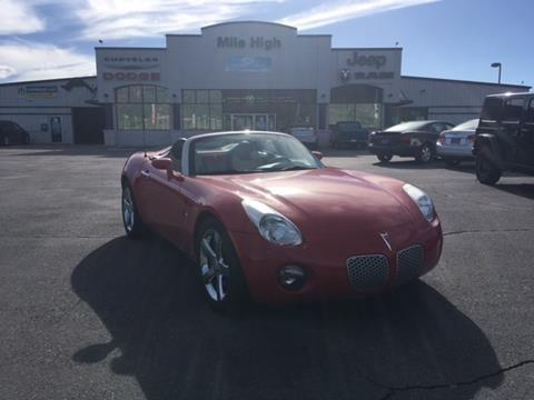 2007 Pontiac Solstice for sale in Butte MT