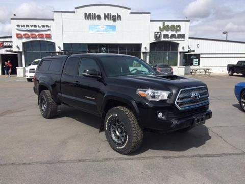 2017 Toyota Tacoma for sale in Butte MT