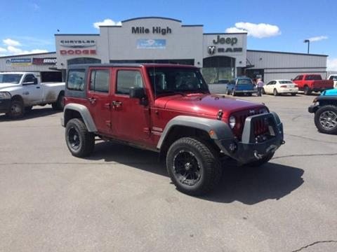 2011 Jeep Wrangler Unlimited for sale in Butte MT