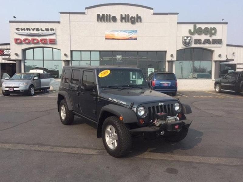 2008 Jeep Wrangler Unlimited 4x4 Rubicon 4dr SUV In Butte MT