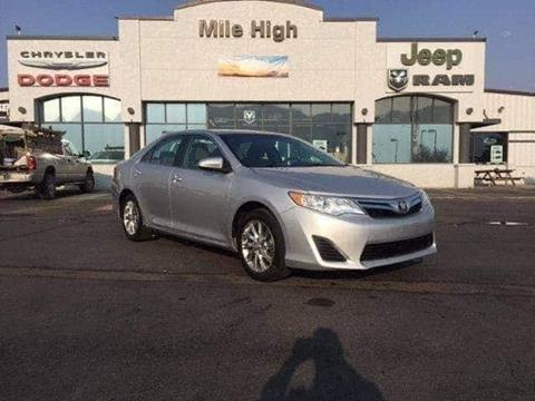 2014 Toyota Camry for sale in Butte, MT