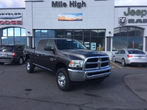 2016 RAM Ram Pickup 2500 for sale in Butte, MT