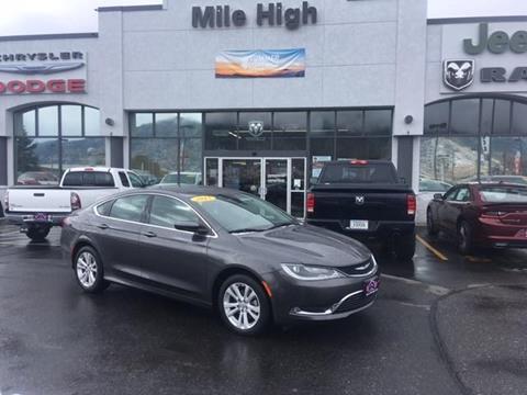 2015 Chrysler 200 for sale in Butte, MT
