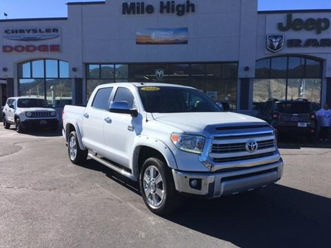 2014 Toyota Tundra for sale in Butte MT