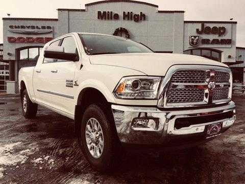 2018 RAM Ram Pickup 3500 for sale in Butte, MT