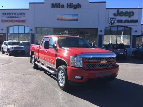 2012 Chevrolet Silverado 2500HD for sale in Butte, MT