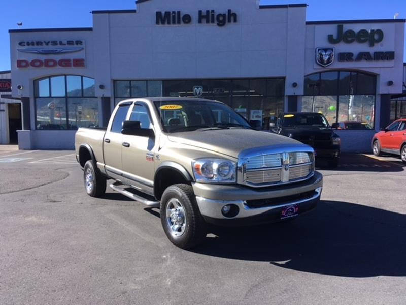 2007 dodge ram pickup 2500 in butte mt mile high jeep for Mile high motors butte