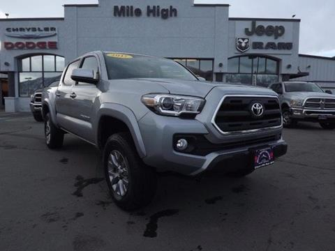 Toyota tacoma for sale in montana for Mile high motors butte