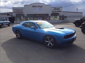 Dodge challenger for sale montana for Mile high motors butte