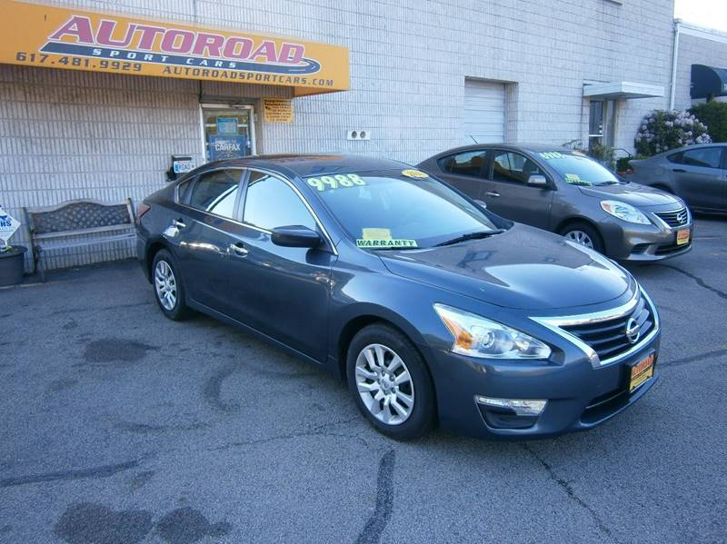2013 Nissan Altima 2.5 S 4dr Sedan   Quincy MA