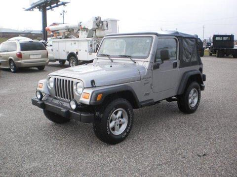 2000 Jeep Wrangler for sale in Somerset, KY