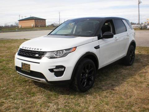 2015 Land Rover Discovery Sport HSE for sale at J R Jackson Auto Sales in Somerset KY