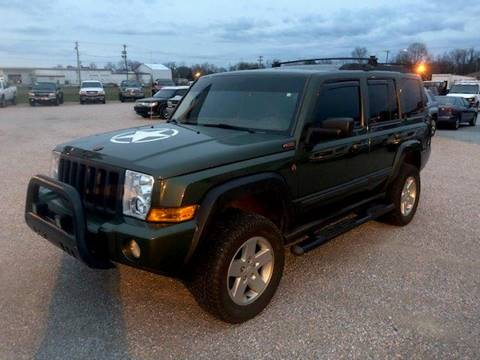 2007 Jeep Commander Sport for sale at J R Jackson Auto Sales in Somerset KY